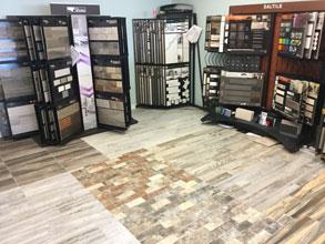 ceramic tile flooring counter