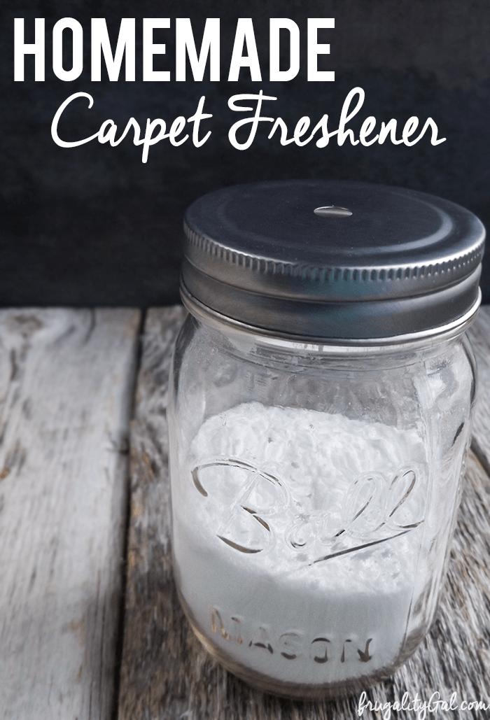 Homemade Carpet Freshener Recipe