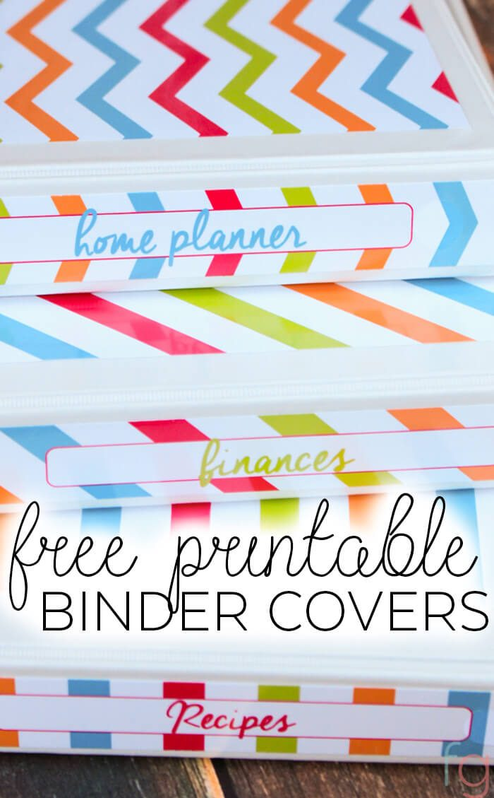 free printable binder covers savor savvy