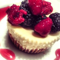 Petite Power ~ Lemon Berry Cheesecake