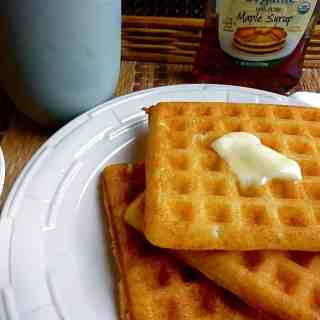 Wonderful Yeast Waffles