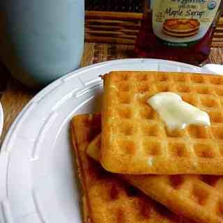 Wonderful Yeast Waffles
