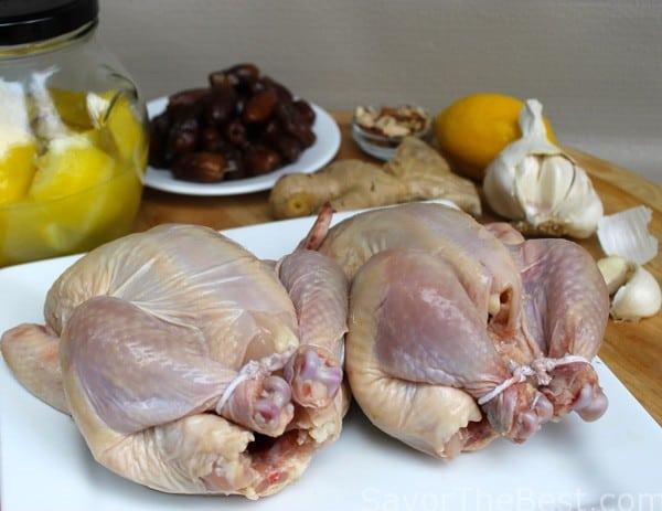 Prepping-Chicken