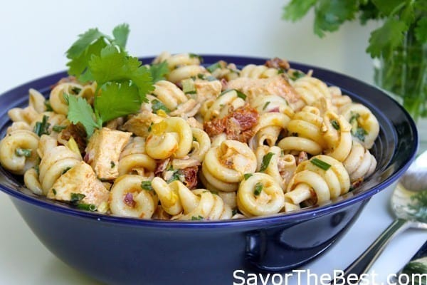 Pasta-Salad-with-Grilled-Chicken-and-Chipotle-Dressing