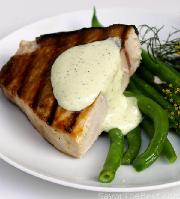 Grilled-Swordfish-Steak-with-Lemon-Dill-Aioli-Sauce-3