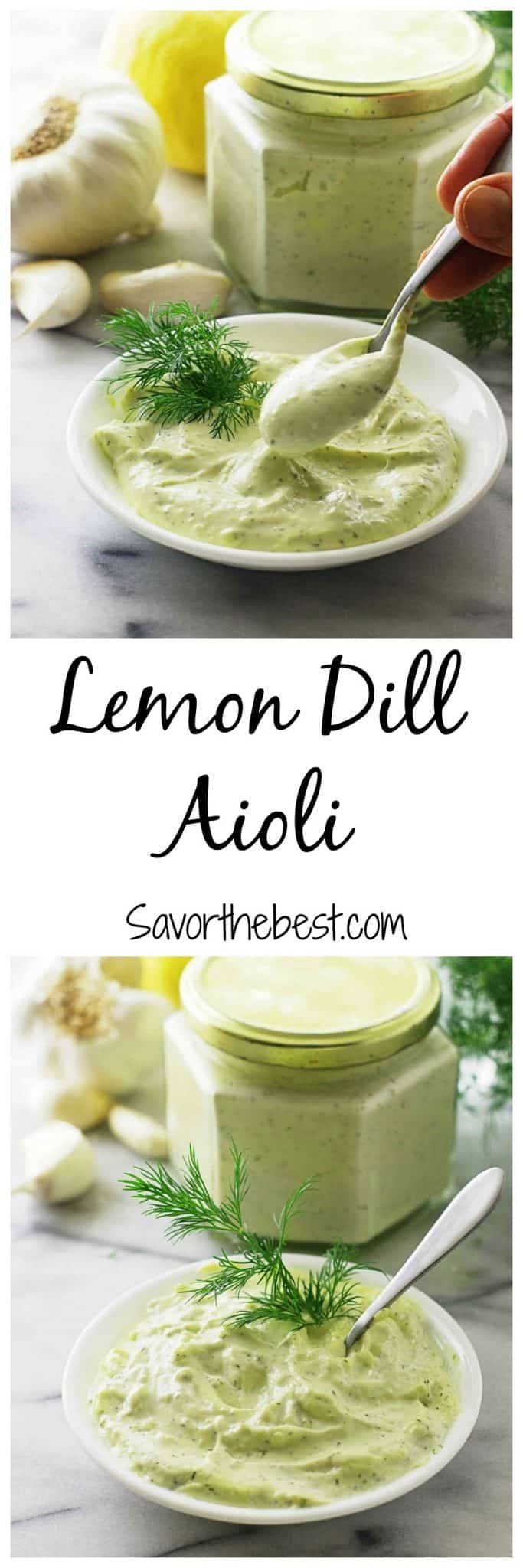 Lemon Dill Aioli