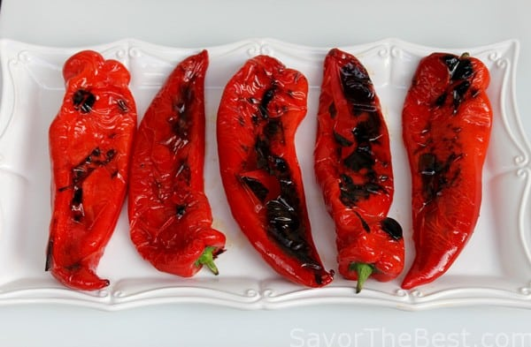 Grilled Italian Sweet Peppers