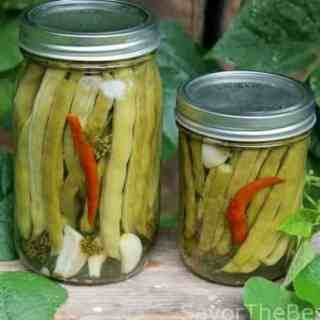 Hot Dilly Green Bean Pickles