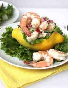 Lemon Shrimp Salad