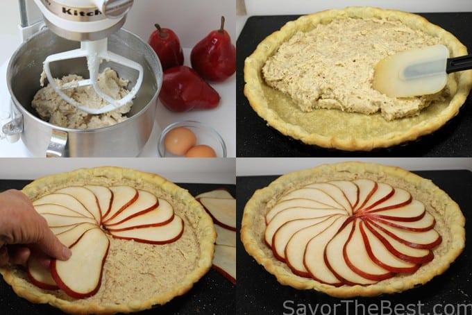 making the tart