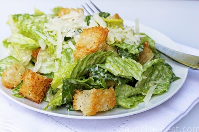how to make homemade croutons for salad