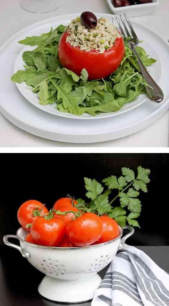 Tomato-Tuna Salad