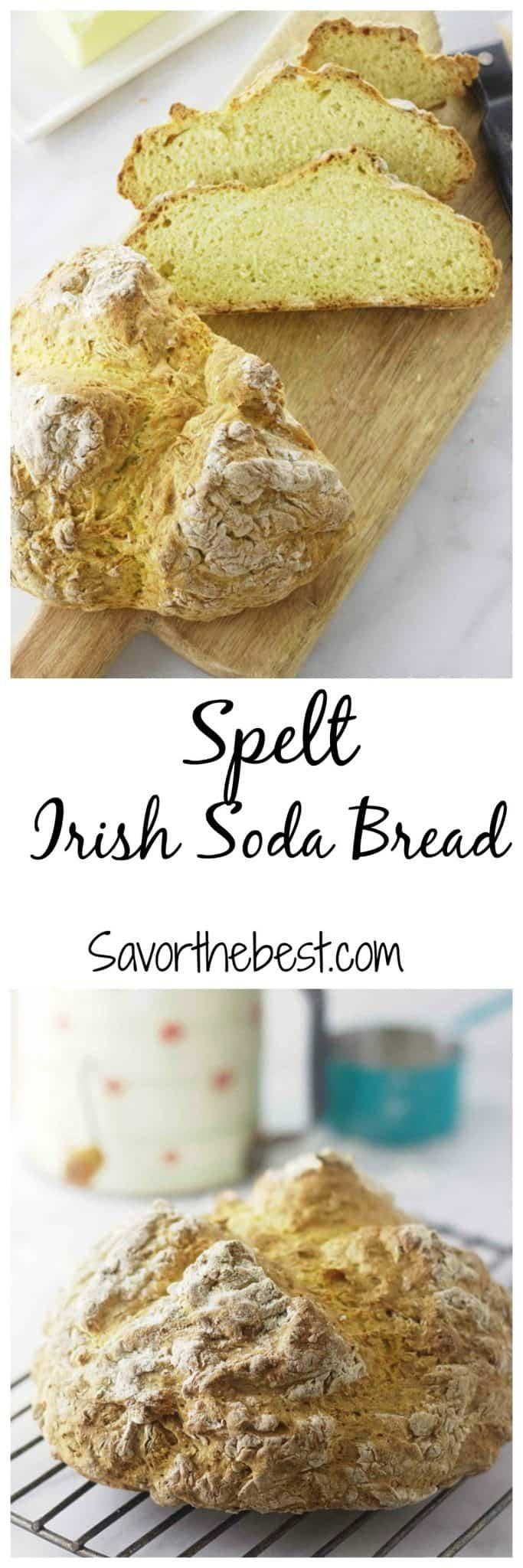 spelt irish soda bread