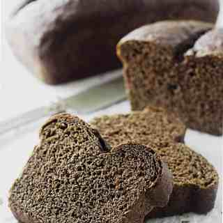 Sprouted Rye Bread