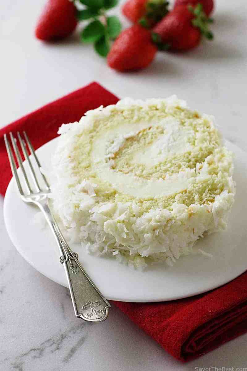 Coconut Cake Roll and My Norwex Party