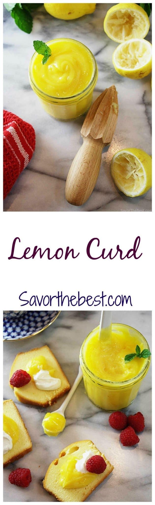 Rich Lemon Curd
