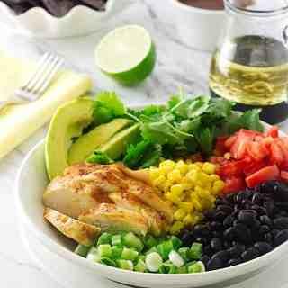Southwestern Chicken Salad Bowl