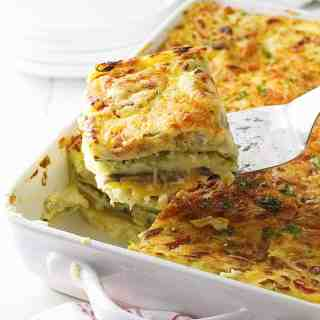 Fresh Vegetable Lasagna with Homemade Spelt Noodles