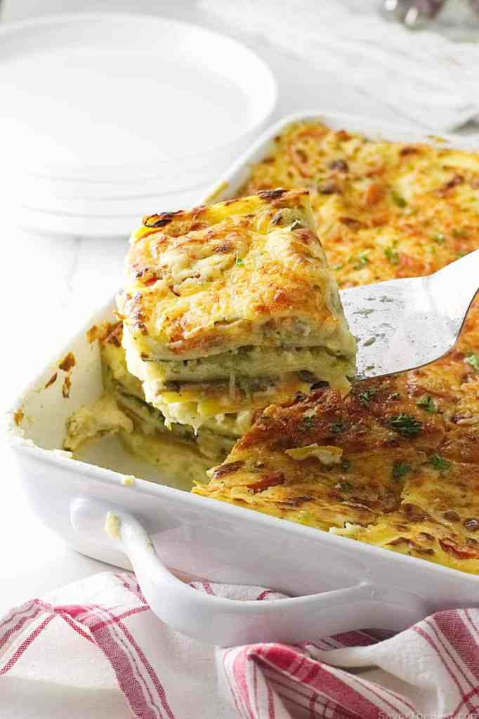 how to make lasagna with homemade noodles
