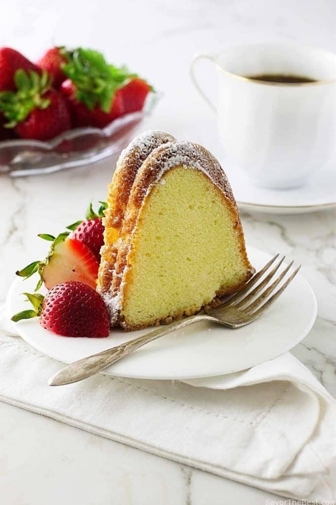 Old-Fashioned Cream Cheese Pound Cake - Savor the Best