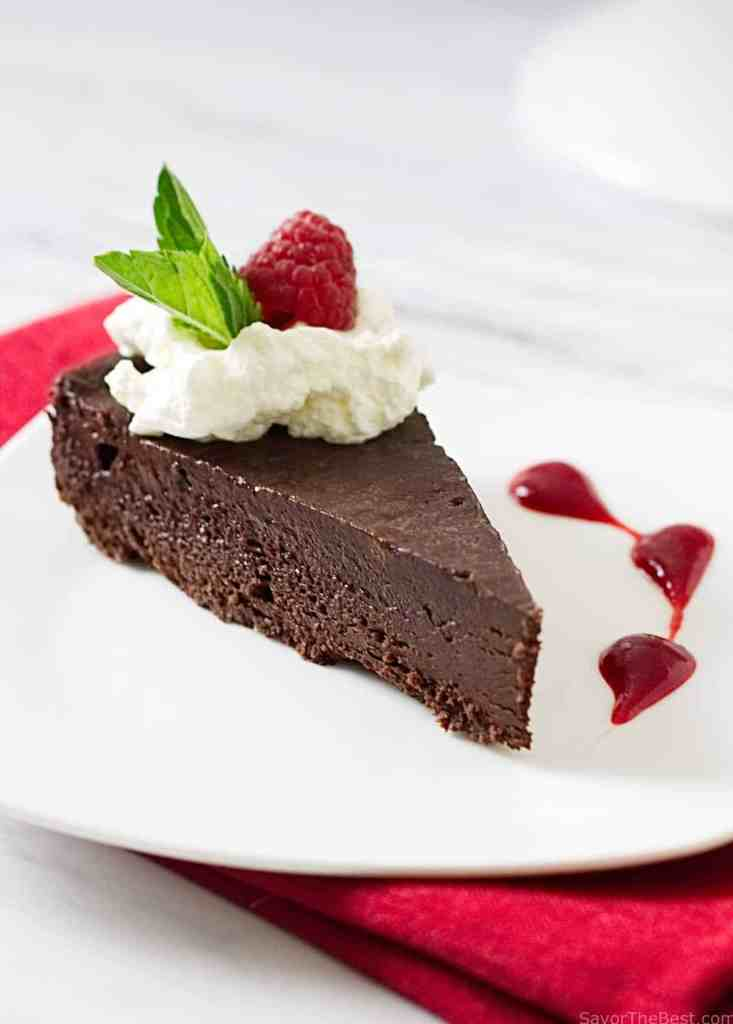 Flourless Chocolate Mousse Cake Recipe