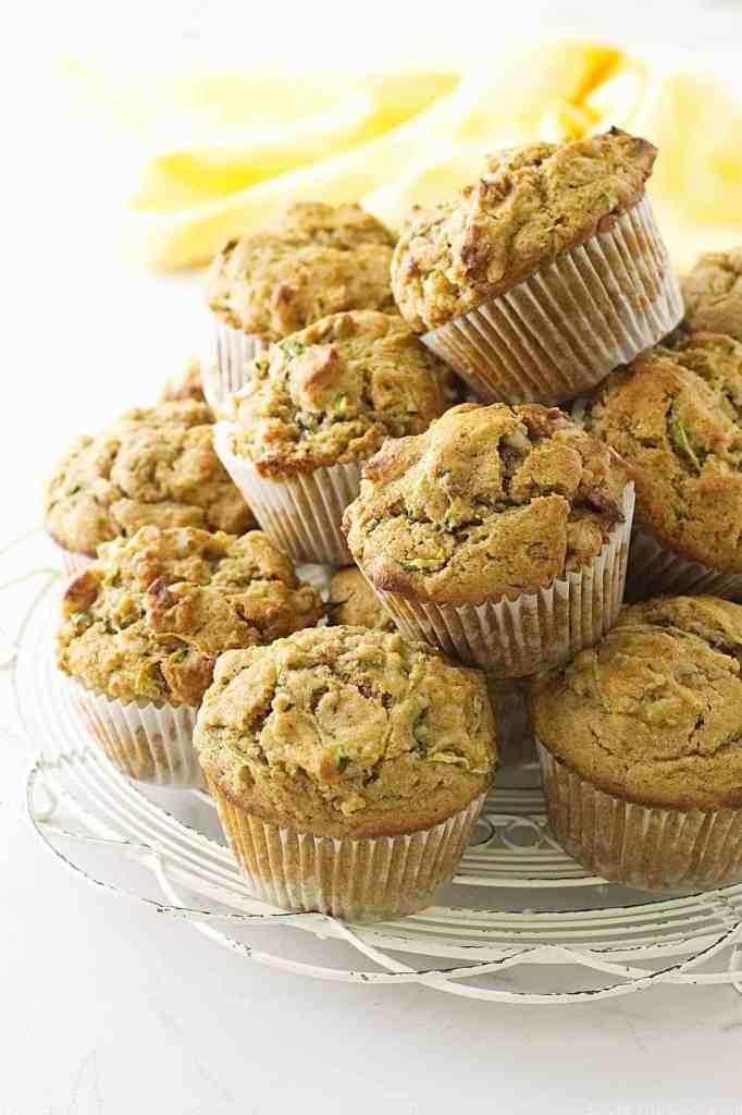 Kamut® Zucchini Muffins