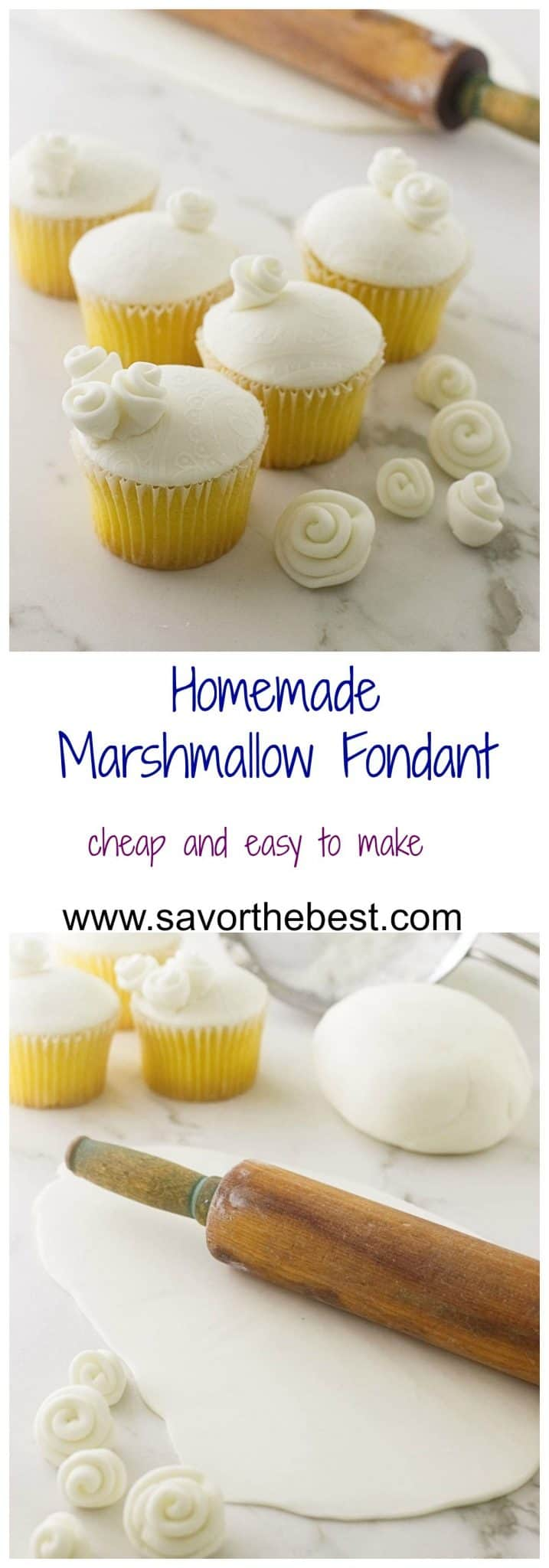 cheap and easy marshmallow fondant