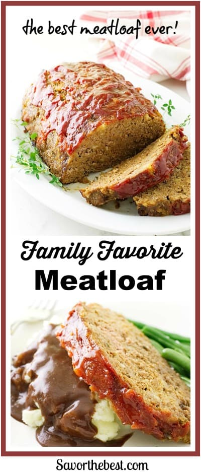 My Favorite Meatloaf Recipe: This is the best meatloaf you will ever make and it only uses 6 ingredients