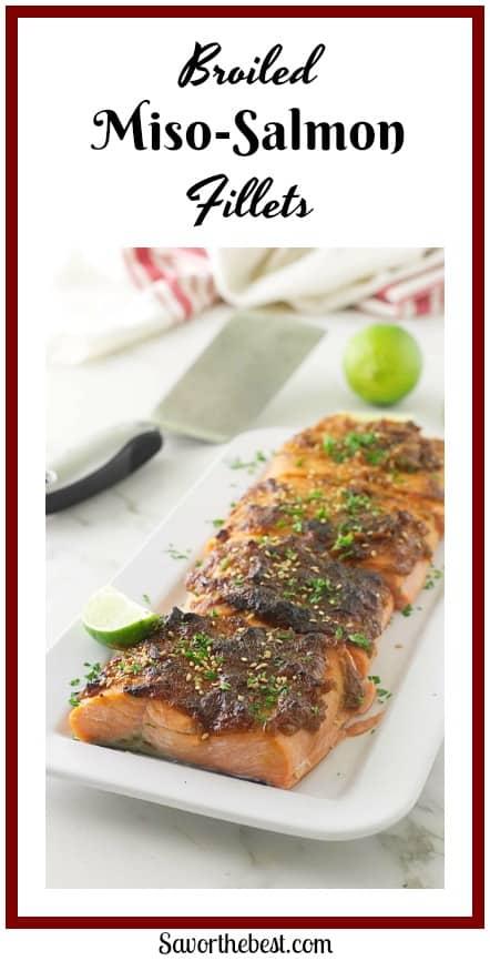 Red Miso-Hoisin Salmon