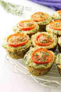 Veggie Quinoa Egg Muffins