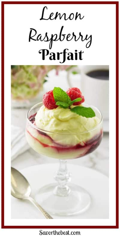 Lemon Raspberry Parfait