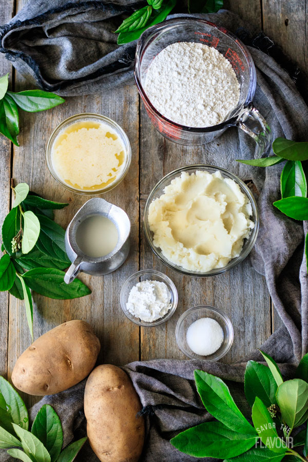 ingredients for boxty bread