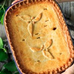 person holding a dingle pie