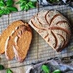Homemade Whole Wheat Molasses Bread