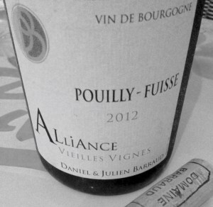 Pouilly-Fuisse white wine