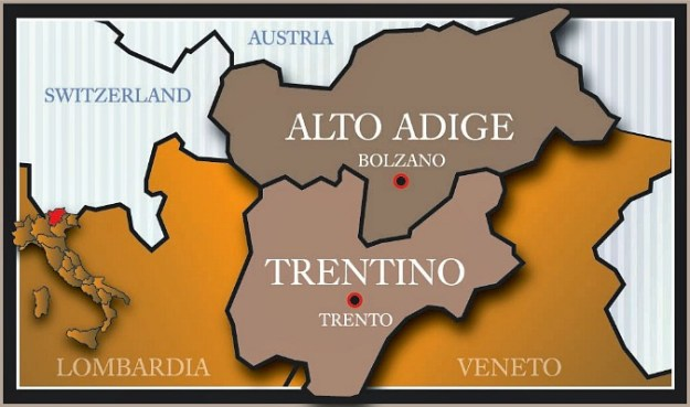 Trentino Alto Adige Südtirol South Tyrol