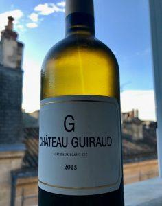 Chateau Giuraud Le G Blanc Sec