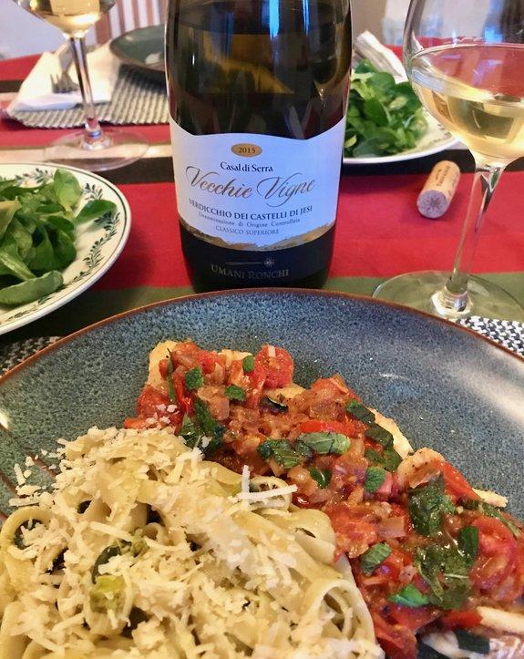 verdicchio italian wine marche region italy