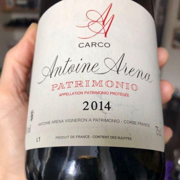corsica wine vin corse