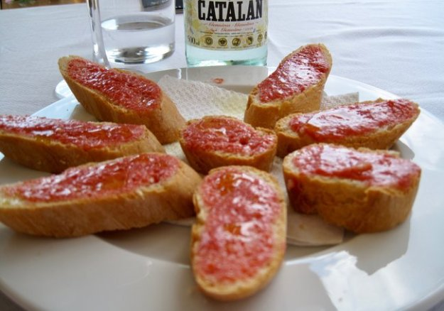 Spanish food tomatoes