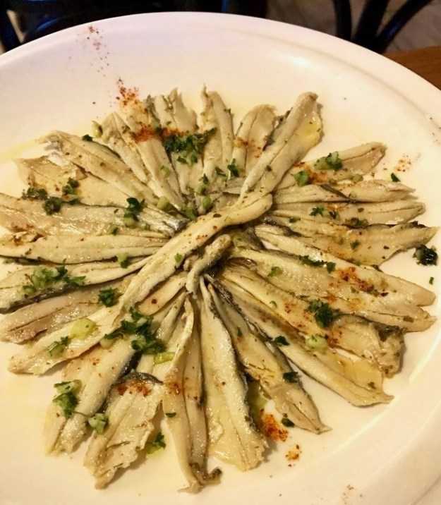 anchovies boquerones Barcelona savor the harvest