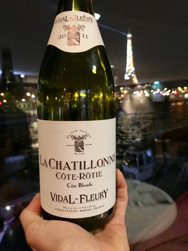Vidal-Fleury Côte-Rôtie La Chatillonne blonde rhone red wine