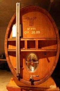 foudre oak wine barrel rhone valley