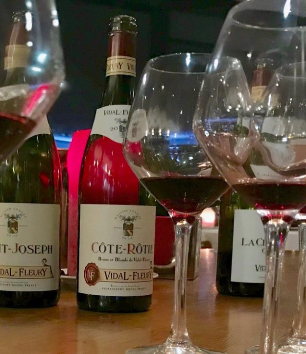 Vidal Fleury Côte-Rôtie northern Rhone Valley wine