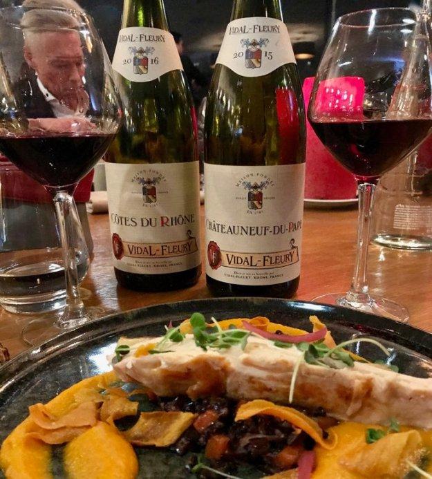Côtes du Rhone Rouge Vidal Fleury wine