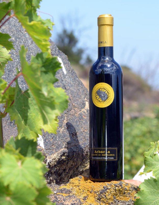 Vinisola Passito di Pantellaria DOC Italy dessert wine