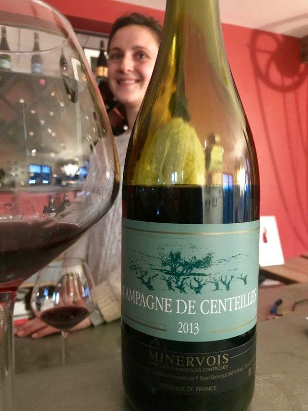 Cecile Domerage Clos Centeilles Minervois Languedoc France wine