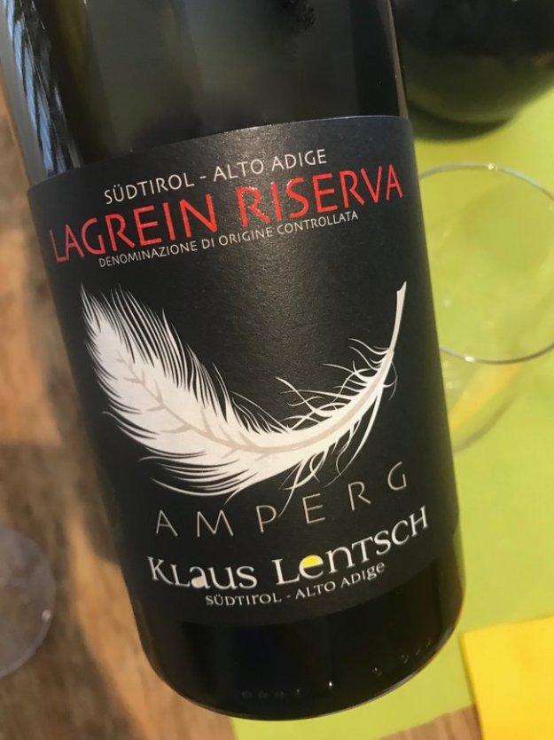 Lagrein Weingut Klaus Lentsch Alto Adige