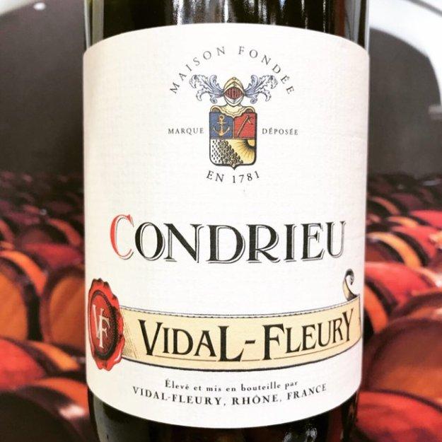 Vidal-Fleury Condrieu wine Rhone Valley