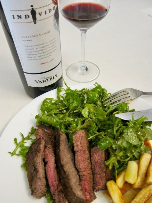 Steak Frites moldova chateau vartely feteasca neagra